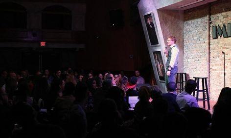 Brad Tassell telling Jokes!